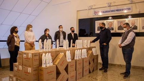 Apras Londrina doa R$ 15 mil em Lysoform para hospitais