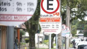 Estacionar sem ativar créditos do EstaR vale multa de R$ 195
