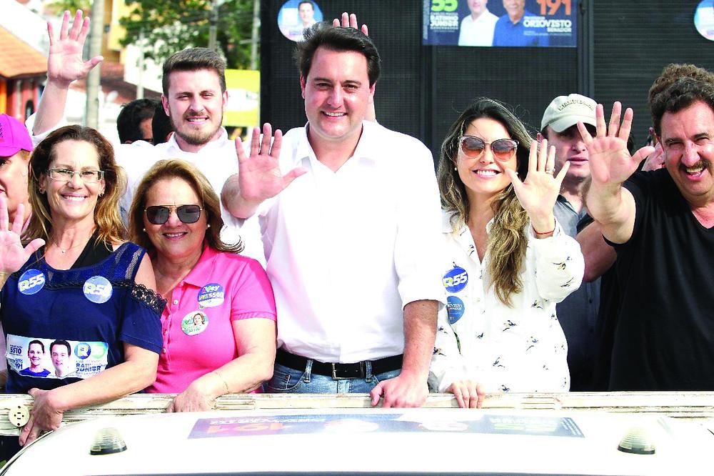 Ratinho Júnior acelera a campanha na reta final