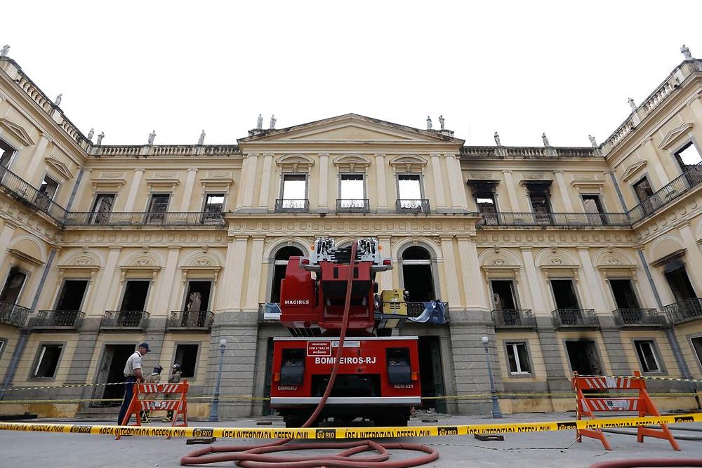 Unesco vai ajudar na remoção de escombros do Museu Nacional