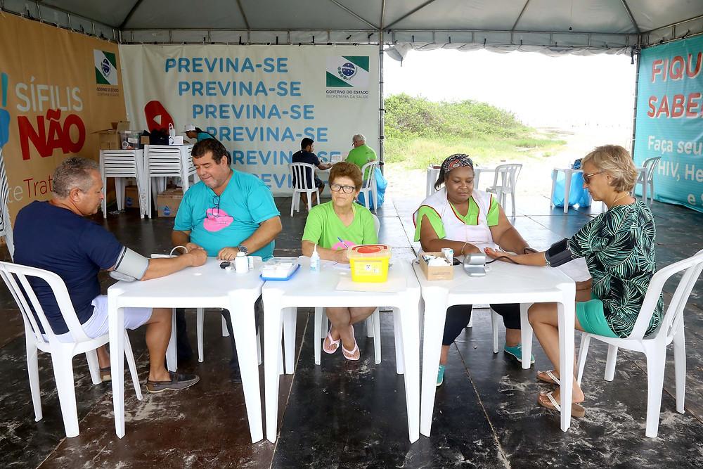 Serviços de saúde começam em Guaratuba e Ipanema