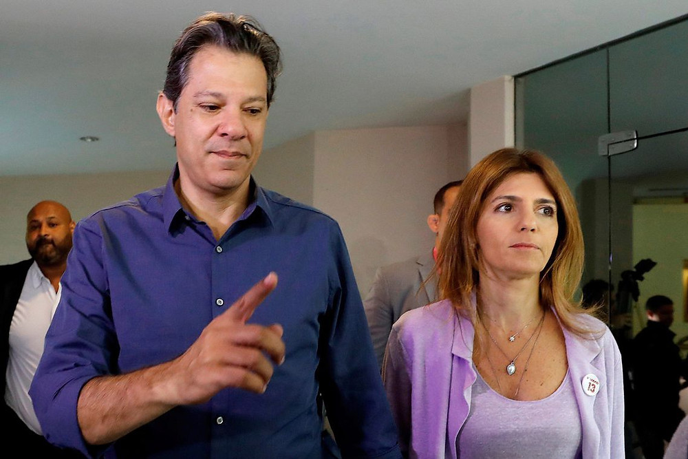 Haddad deseja boa sorte a Bolsonaro