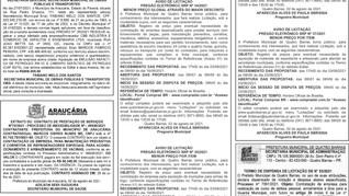 Publicidade Legal | Edital - 03/08/2021
