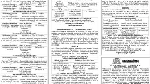 Publicidade Legal   Edital - 17/09/2021