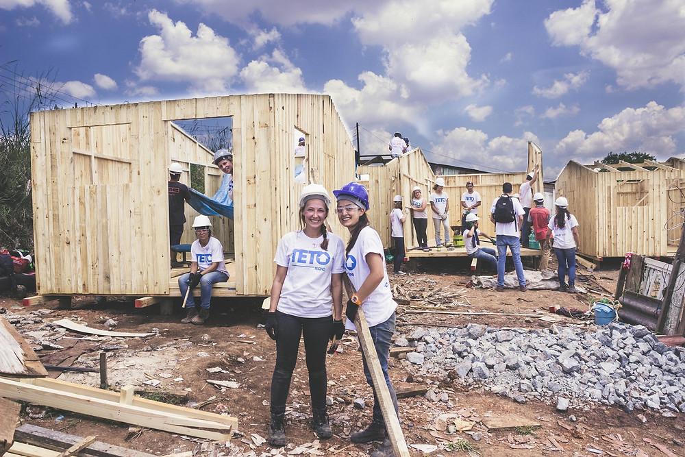 TETO vai construir 24 moradias de emergência em Curitiba