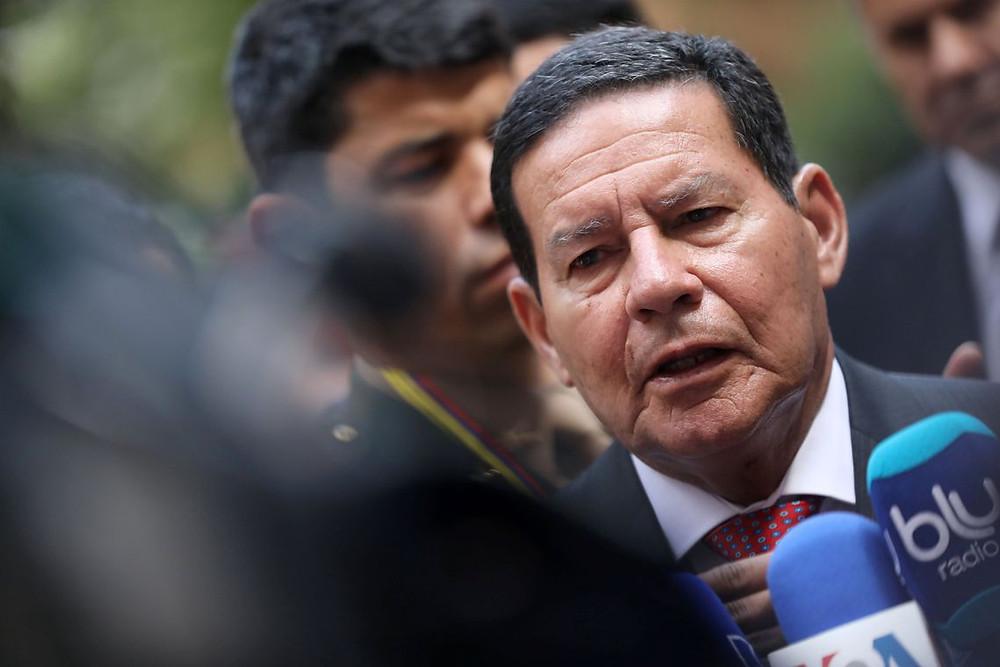 Mourão diz que governo pode oferecer cargos para aliados