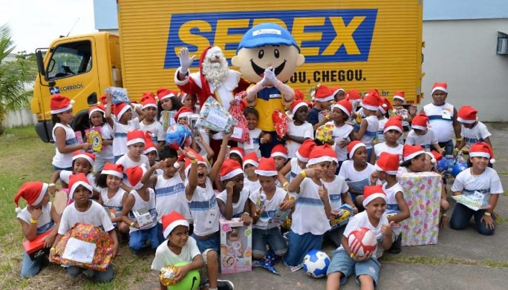 Campanha Papai Noel dos Correios começa no dia 6