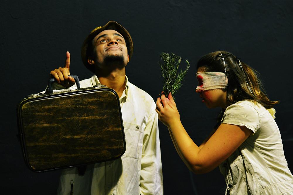 Curso Técnico de Teatro apresenta Os Cegos