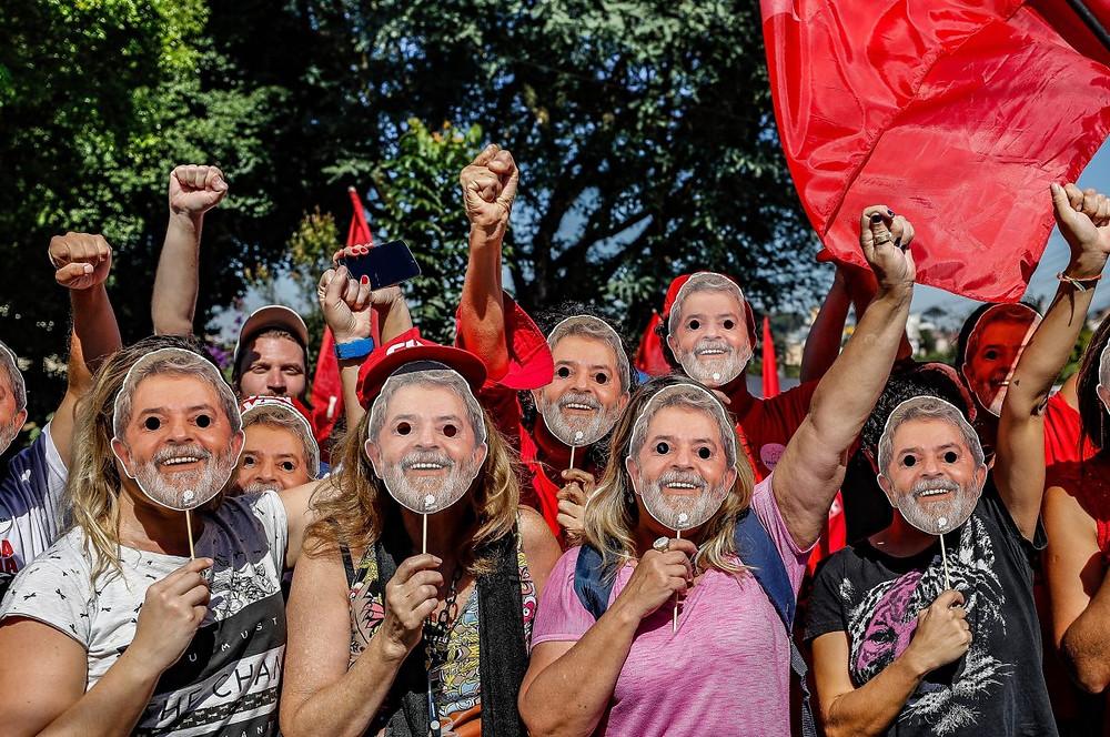 Vigília Lula Livre fará ato de um ano de prisão de Lula