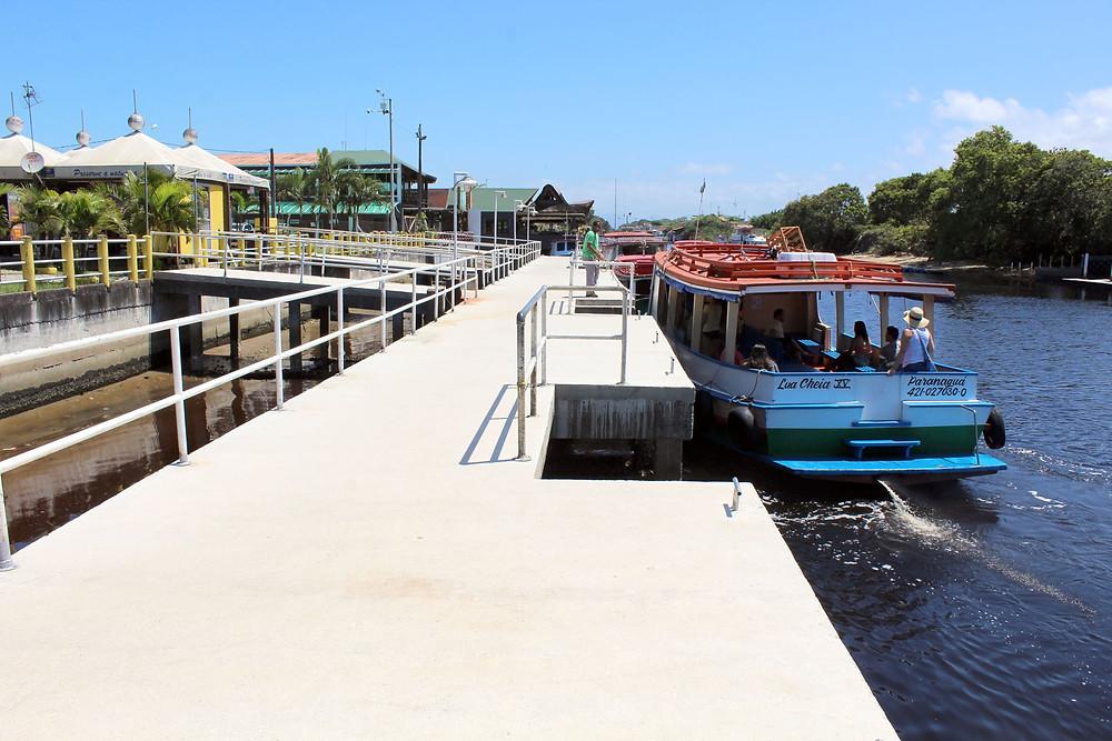Embarque para Ilha do Mel ganha um novo trapiche