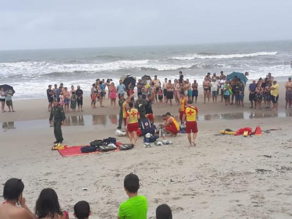Jovem é a sexta vítima de afogamento no litoral do Paraná