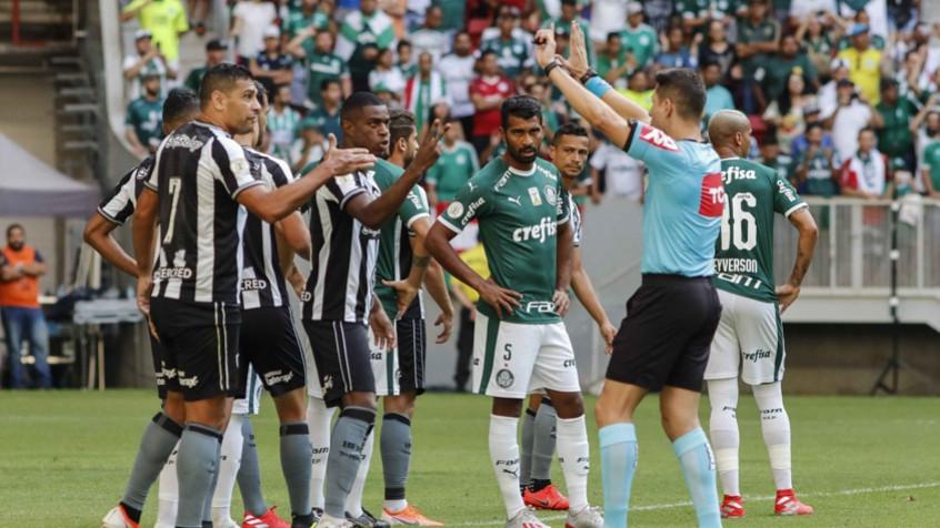 STJD analisa chance de anular Botafogo x Palmeiras