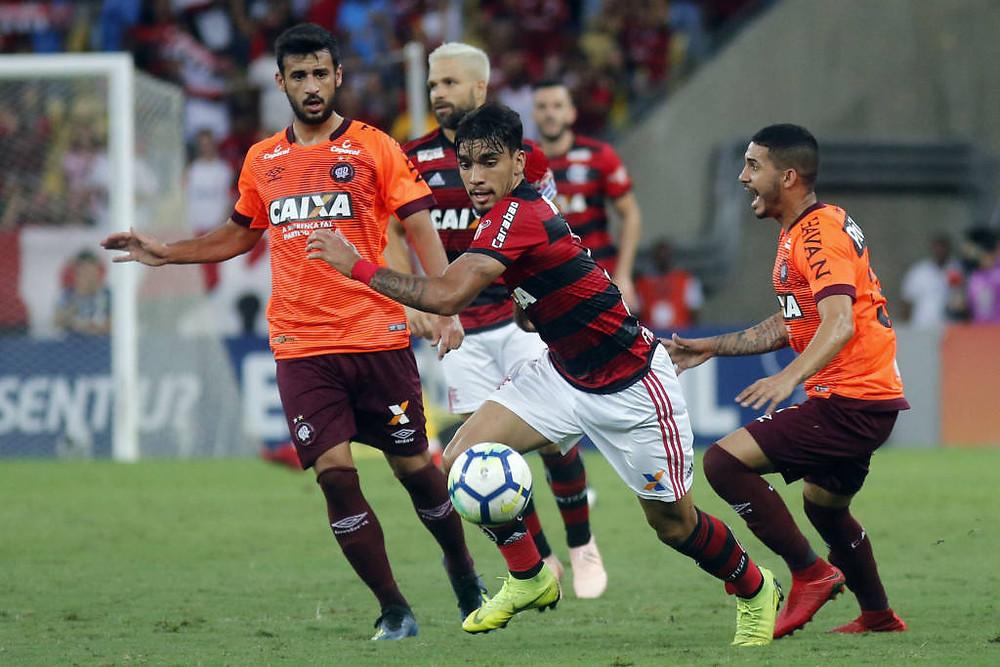 Reservas do Atlético viram sobre o Flamengo