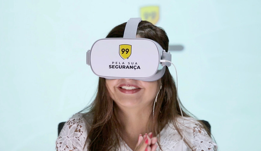 Motoristas do 99 passam por treinamento em realidade virtual