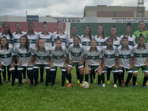Coritiba/Toledo viaja para o Brasileiro Feminino Sub-18