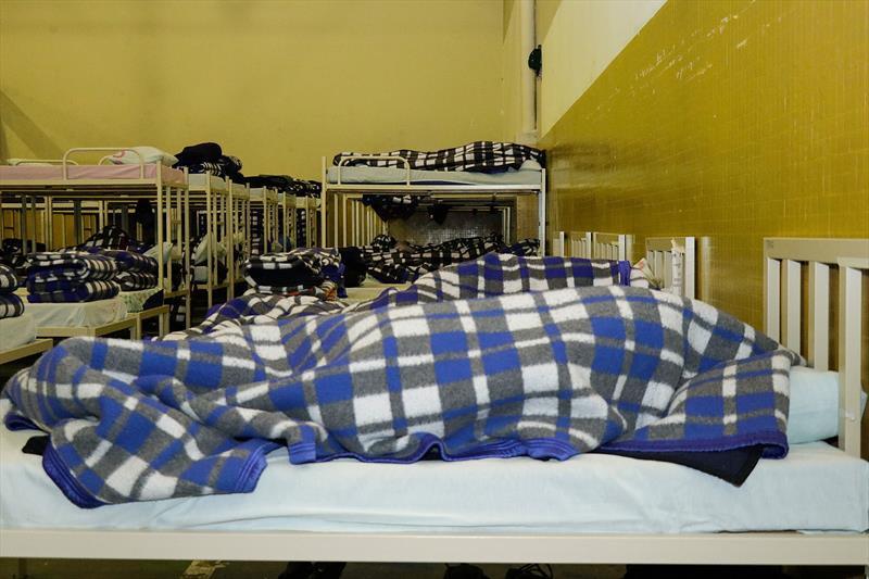 Prefeitura abrigou quase 500 pessoas por noite no fim de semana