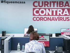 Curitiba tem 19 mortes e 643 novos casos de covid-19