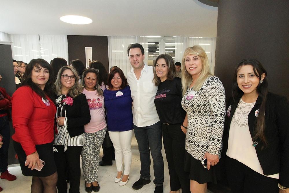 Evento reúne Mulheres Inovadoras em apoio a Ratinho Junior