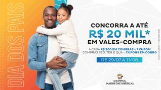 Dia dos Pais no Shopping Jardim das Américas