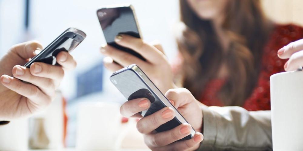 Brasil é 5º país em uso diário de celulares