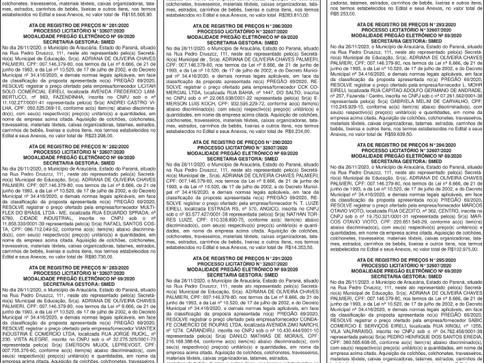 Publicidade Legal | Edital - 11/01/2021
