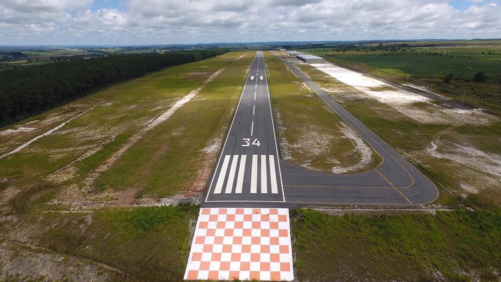 Aeródromo no Paraná será inaugurado no dia 15