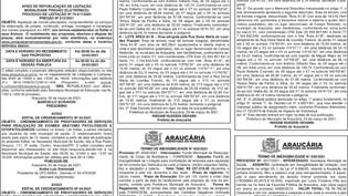 Publicidade Legal | Edital - 06/03/2021