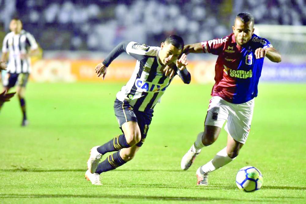 Paraná Clube perde o 14º jogo no Brasileirão