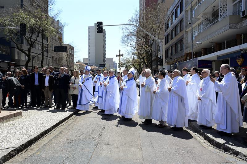 Curitiba comemora 350 anos da Paróquia de Nossa Senhora da Luz dos Pinhais