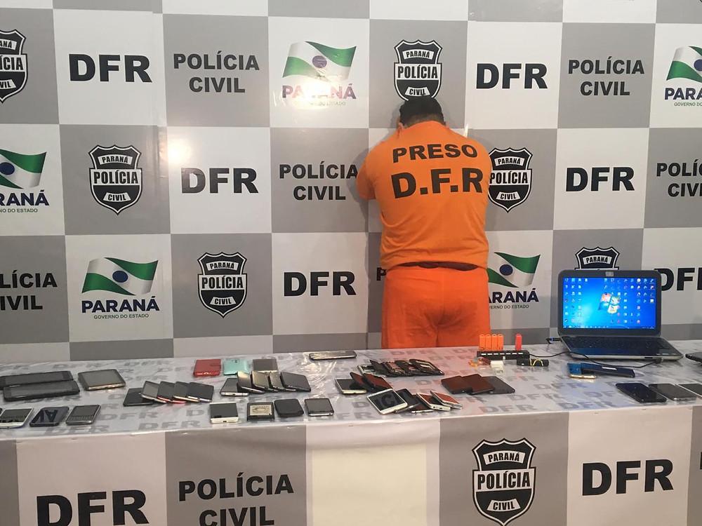 Polícia prende suspeito de fraudar celulares