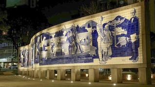 Nova iluminação destaca os monumentos da Praça 19 de Dezembro