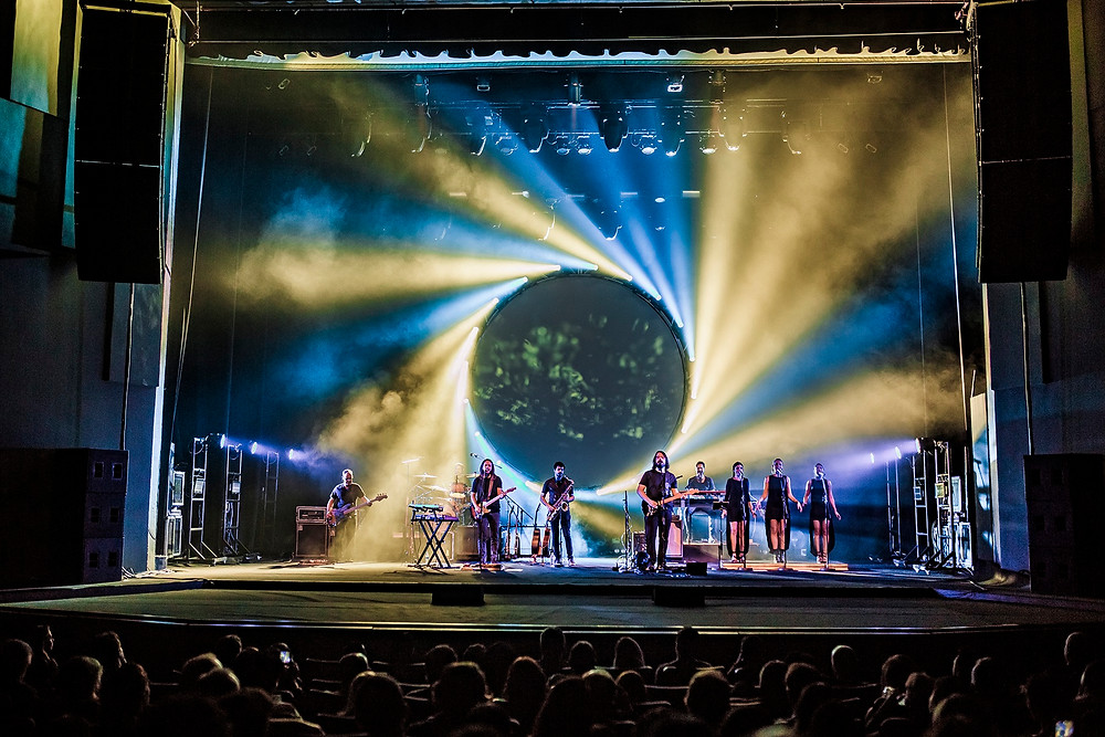 Teatro Positivo recebe Atom Pink Floyd Tribute