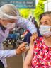 Lares de idosos têm 697 pessoas imunizadas