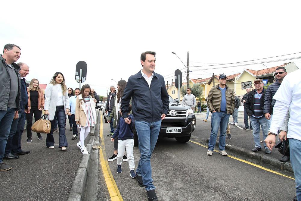 Ratinho Jr defende governo de união para atrair recursos