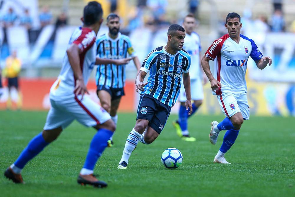 Paraná segue na rotina de derrotas no Brasileiro