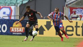 Bahia vence o Athletico e deixa o Z-4