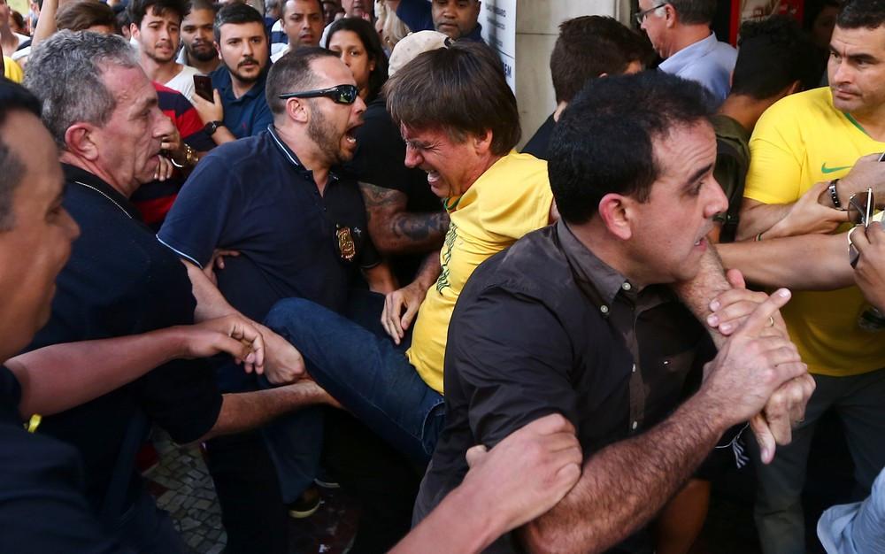 Candidatos condenam ataque a Bolsonaro