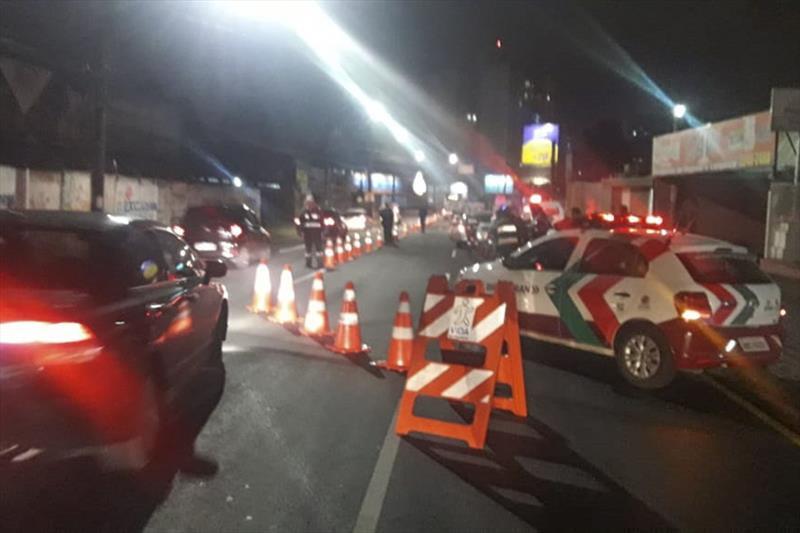 Blitze da Semana Nacional do Trânsito flagram 300 motoristas