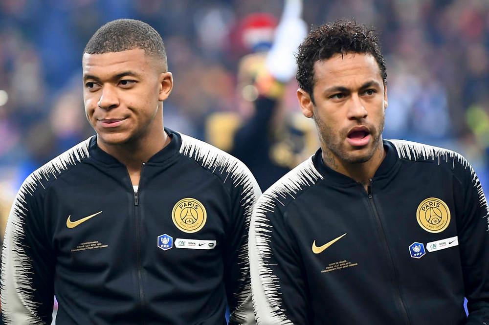 Decisão sobre indisciplina de Neymar e Mbappé pode sair nesta sexta
