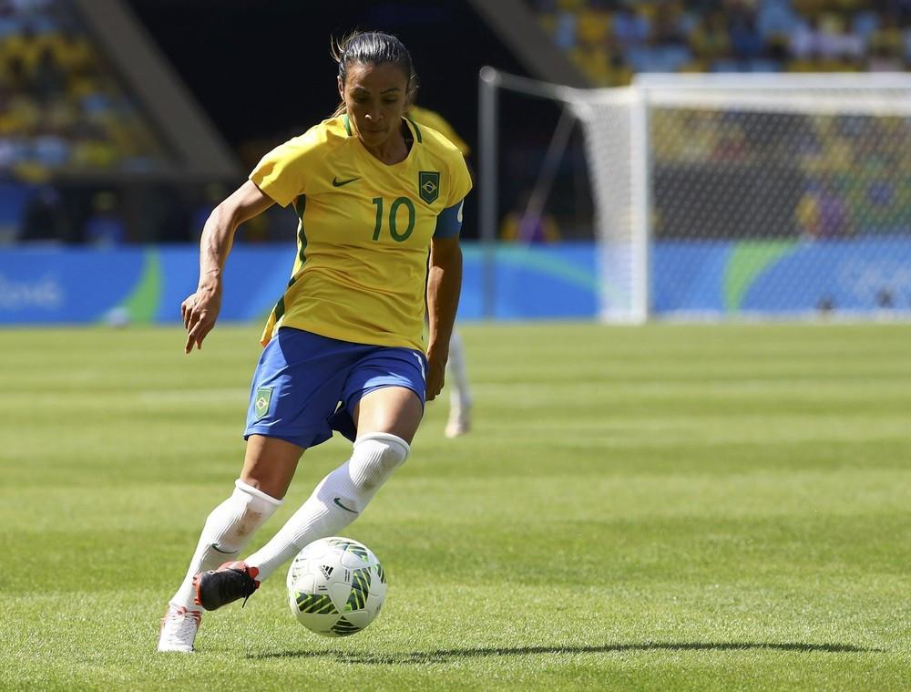 Marta está entre as três melhores do mundo pela 14ª vez