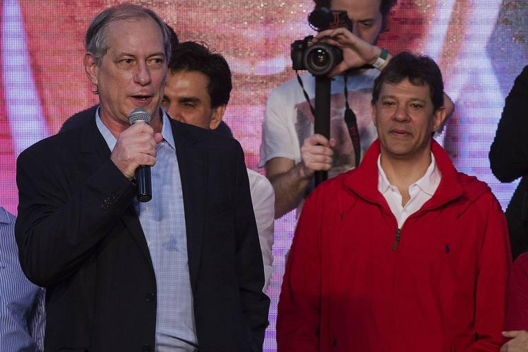 Datafolha aponta Bolsonaro em 1º e Haddad e Ciro em 2º