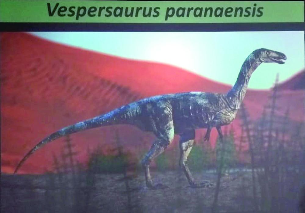 Nova espécie de dinossauro é encontrada no Paraná