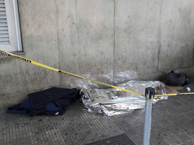 Frio já matou três pessoas nas ruas de São Paulo
