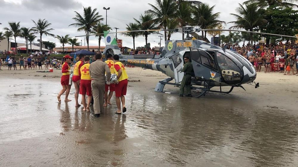 Verão no Paraná começa com duas mortes no mar