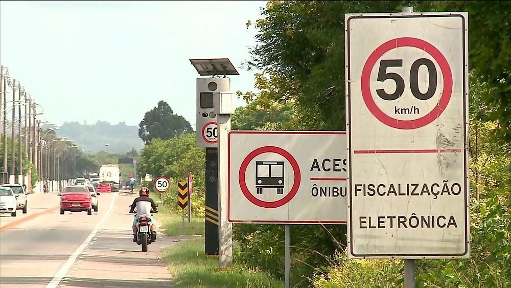 Governo anuncia acordo para instalar mil radares nas rodovias