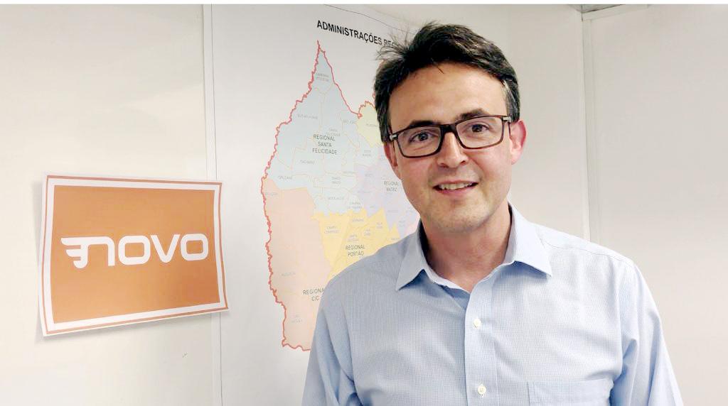 Partido Novo vai disputar a Prefeitura de Curitiba