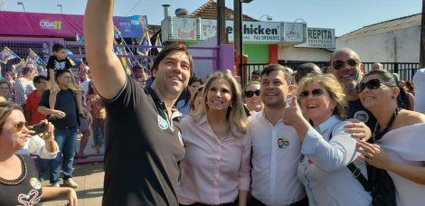 Cida faz campanha em Paranavaí e Maringá