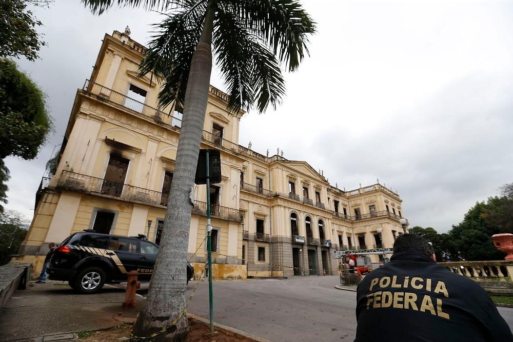 Temer cria agência para reconstruir Museu Nacional