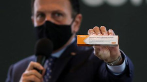 Doria diz que vacinação em São Paulo começa em janeiro