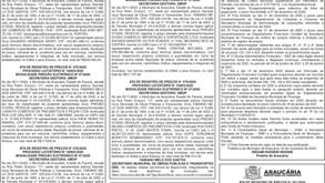 Publicidade Legal | Edital - 02/12/2020